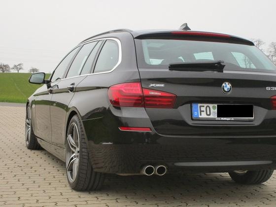 Mein BMW 530D xDrive mit Adaptive Drive, 30er Eibach Pro Line Federn und Spurverbreiterungen