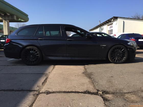 BMW F11 neue Federn 35:20